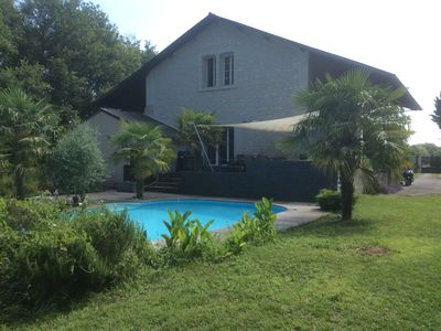 Photo for Villa near chinon 9 people with heated pool