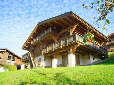 Photo for Superb chalet in Megève, 5CH, 4 SDB, near center and ski lifts