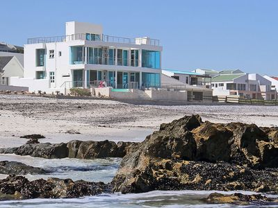 Photo for Exquisite Beachfront Home in Beautiful Bloubergstrand