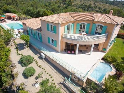 Photo for Modern Immaculate Villa, Quiet And Secluded, Stunning Views Of Medieval Village