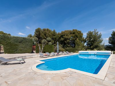 Photo for Beautiful renovated country house, swimming pool, garden, quiet, 3.5 km from the beaches of St Cyr