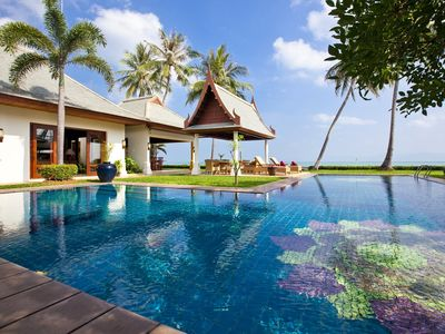 Photo for Villa Lotus | On the Beach | Private Pool