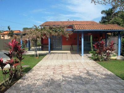 Photo for Your best option is here! - 4 suites and pool 150 meters from the beach