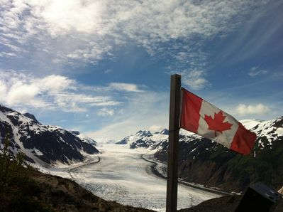 Salmon Glacier-5th largest glacier in North America