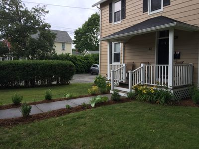 Photo for Beautiful Home in Narragansett Pier! Two Apartments in ONE Home! Walk to Pier!