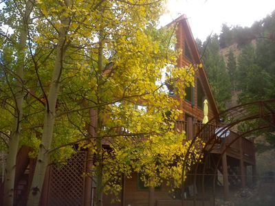 Photo for Only 45 minutes from Denver! Easy access to skiing. Close to Georgetown. Quiet!