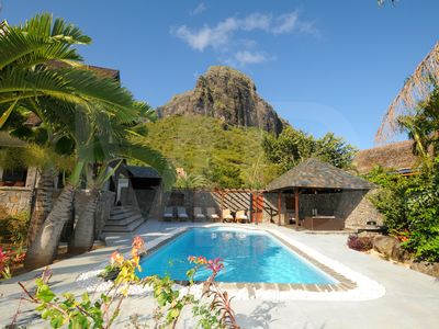 Photo for Villa in Le Morne with pool and maid