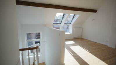 Photo for Renovated apartment in the heart of brussels