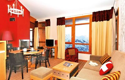 Photo for Surface area : about 36-43 m². Living room with bed-settee. Bedroom with double bed or 2 single beds