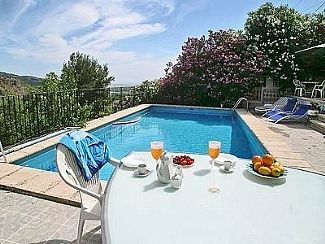 Photo for Half a Villa with your own Private Pool. Sea views & surrounding forest.