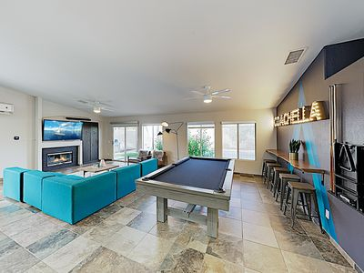 Photo for New Listing! Luxe La Quinta Haven w/ Private Pool, Spa & Pool Table