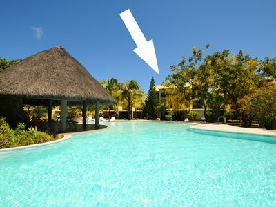 Photo for LES CONDÉS in beautiful complex with pool. 100m from the beach