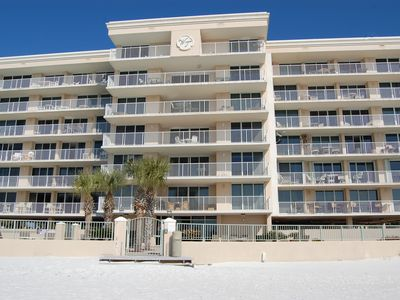 Photo for Unit 201, Beautiful, Newly Updated Condo With Views Of The Gulf And Pool!
