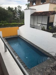The pool its perfect for swim, and get relaxed