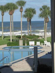 Photo for ~FL~ Beachfront Condo/ Two Pools, Tennis, Shuffle Board, Quiet