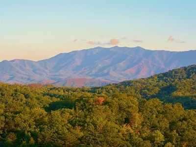 Photo for Summer Dates Open! Great Views,1.5 Miles from Pkwy!2 BR/2 BA, Brand New Hot Tub!