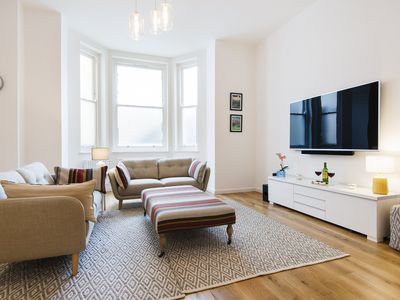 Photo for Earl's Court Square Garden  apartment in Islington with private terrace.