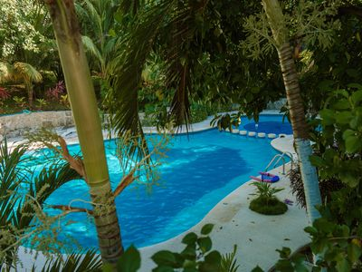 Photo for VILLA JUST RENEWED 3 POOLS PRIVATE ACCESS TO THE BEACH