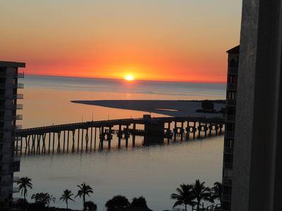 Photo for Breathtaking Gulf & Bay Views from Luxury Top Floor Penthouse. Steps to Beach.