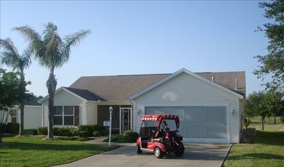 1736 Augustine Dr / 2 Seat Golf Cart for Your Use