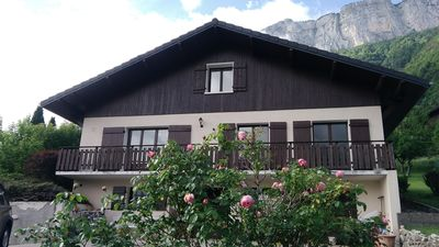 Photo for Renovated house located between Annecy and La Clusaz, La Grand Bornand