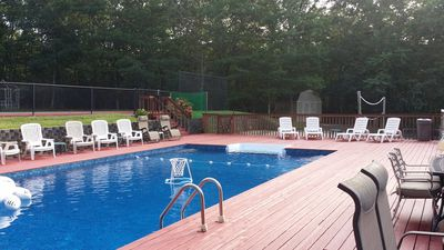 Photo for New Listing: Full Beach Vollleyball, Basketball & Tennis Court, Pool & Jacuzzi & More