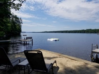 Photo for Lakefront Paradise on Northern Tip of Long Lake