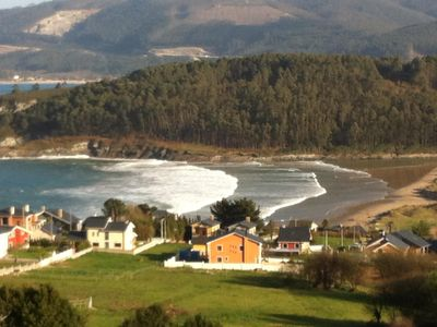 Photo for Amazing sea view! Coast of Galicia,Spain!! 5 minute walk to the beach!!