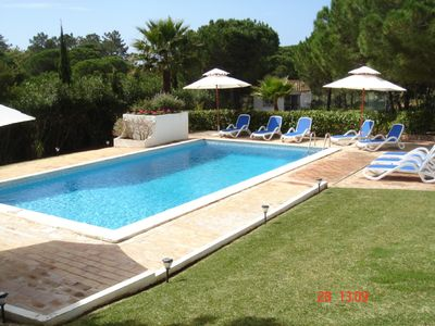 Photo for Large Family Villa with private Garden and Pool  in Val de Lobo