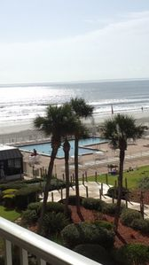 Photo for SOUTHERN BALCONY,   OCEAN VIEW,  FAMILY FRIENDLY, DISCOUNTS,  $92 A NIGHT!!*