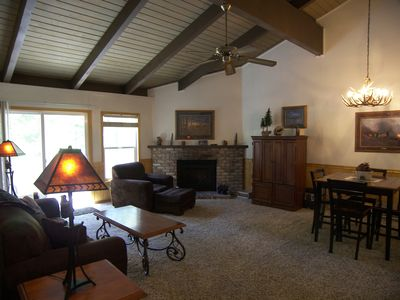 Photo for 3BR 2.5BA Condo Near Skiing And Hiking Trails