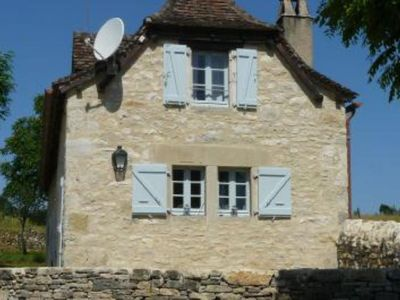 Photo for A typical Quercy house with garden
