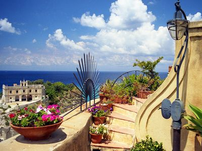 Photo for Charm and prestige to the sea in the center of Tropea in the former convent of the '600