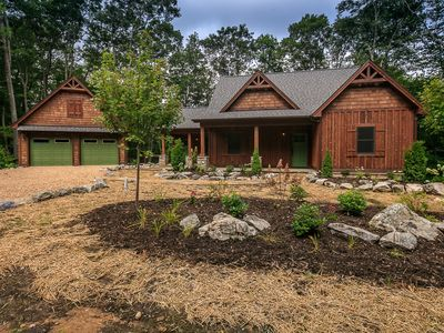 Photo for A Sweet Home Carolina - New home with pool table, community lake & hot tub!