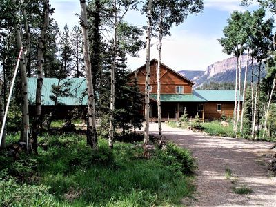 Photo for Private Mountain Retreat-2 MBR Suites-Stunning Views-Hot Tub-2 Miles to Ski