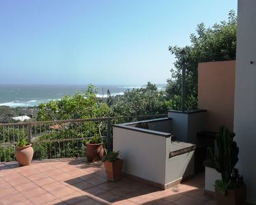 Photo for comfortable holiday home with superb sea view and beautiful terrace incl. BBQ