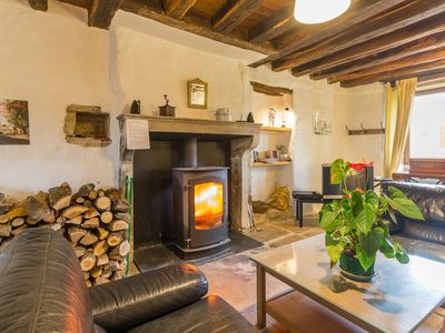 Photo for Stone house and exposed beams in Burgundy