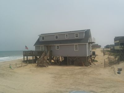 Photo for Beautiful oceanfront home on a quiet street.