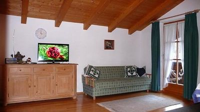 Photo for lovingly cottage style furnished apartment with wonderful mountain view