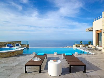 Photo for Vacation home Blue Key Villa  in Agia Pelagia, Crete - 9 persons, 4 bedrooms