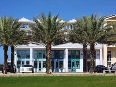Photo for Unforgettable, Seaside Town Center, 2 BR Penthouse, Gulf View, Avail Sept 12-15 at a Heavily Reduced Price! Includes 2 Bikes