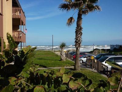 Photo for BEST BUY @ Jackie's BeachFront Condo - Ground Floor - Steps to Beach - Remodeled
