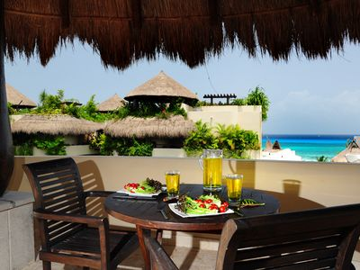 Photo for Winner of Top 25 in Luxury in All of Mexico -PH 2/2 Jacuzzi BBQ Beach Club Promo #2