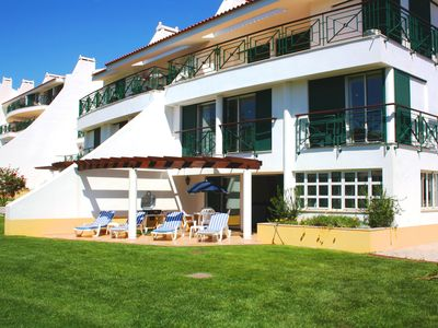 Photo for Outstanding Two Bedroom Apartment At 5 Star Vila Sol Golf Course With Free WIFI