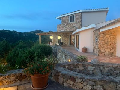 Photo for Large, prestigious and private panoramic villa with private wood.