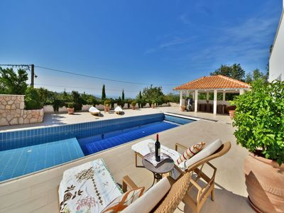 Photo for This 4-bedroom villa for up to 8 guests is located in Crikvenica and has a private swimming pool and