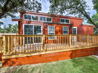 Photo for Texas Hill Country Cabin(s)*** - Poolside,Pet Friendly
