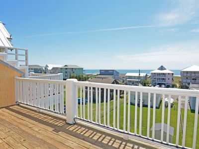 Photo for Sea & Sound - Lovely ocean and sound views from this condo in Carolina Beach