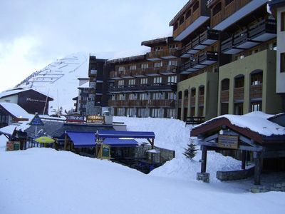 Photo for Apartment in Belle Plagne at the foot of the slopes