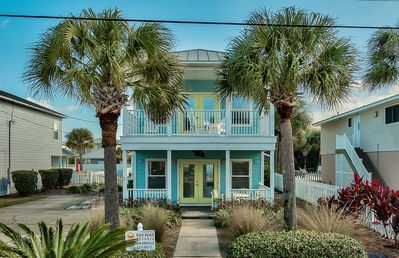 Welcome to Toes in the Sand!  A beautiful beach home just feet from the beach!!